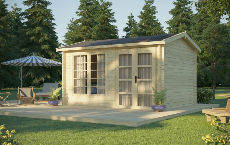 Gartenhaus Modell Irvine 40
