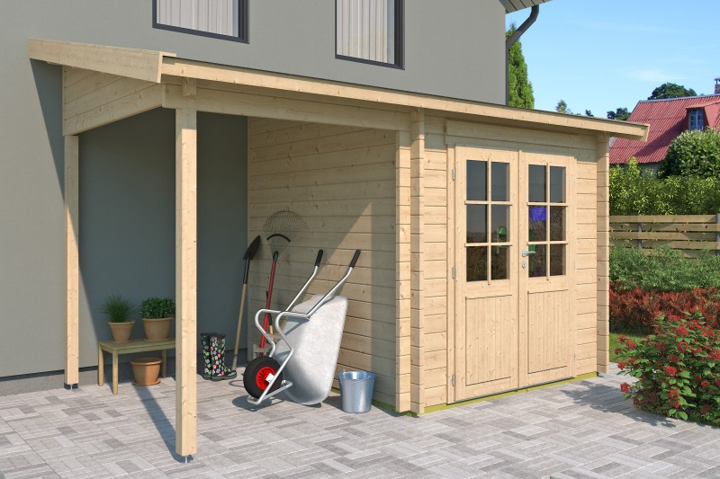 Gartenhaus Modell Pulti 44 H