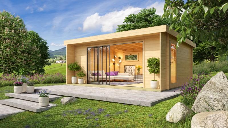 Gartenhaus Alu Concept 44 I