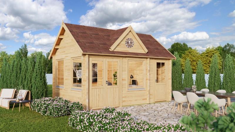 Gartenhaus Modell Clockhouse Dover 44