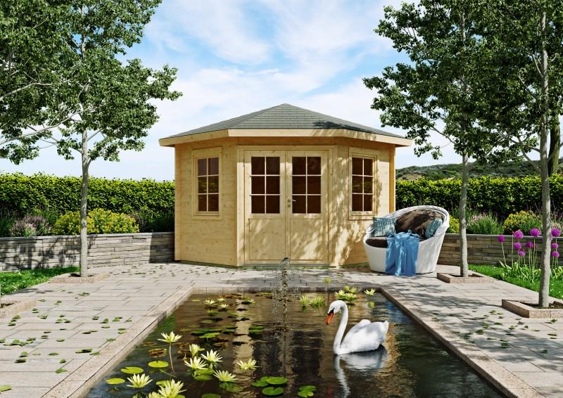 Gartenhaus Modell Leon 40 C