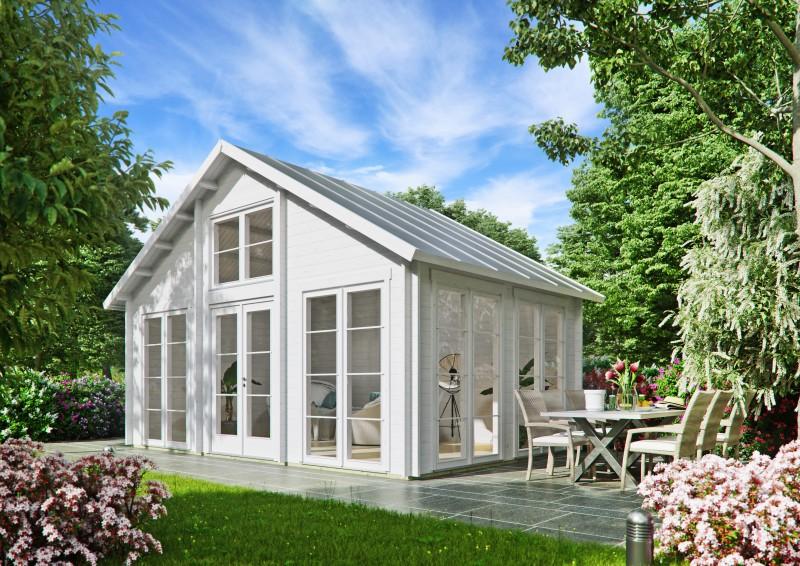 Satteldach Gartenhaus Modell Bern 44