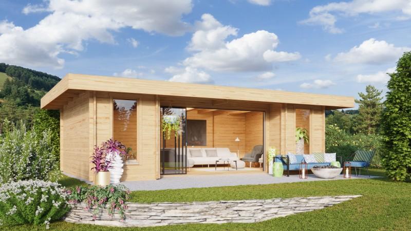 Gartenhaus Modell Alu Concept 44 Q