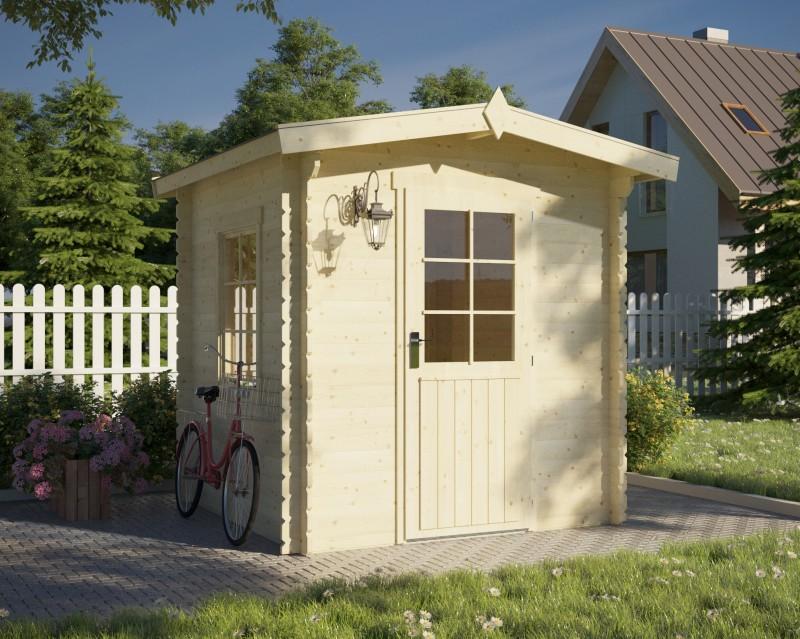 Gartenhaus Modell Dilly 28