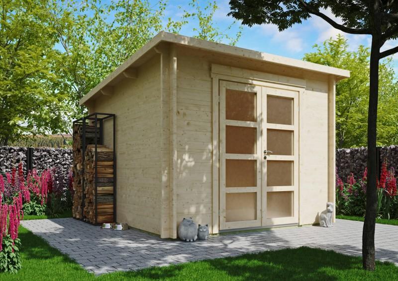 Pultdach Gartenhaus Modell Max 44 F