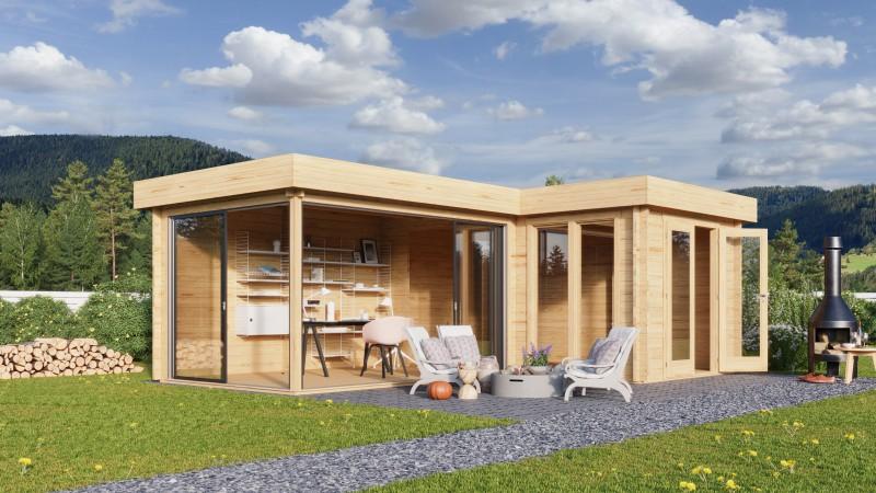 Gartenhaus Modell Alu Concept Quinta 70