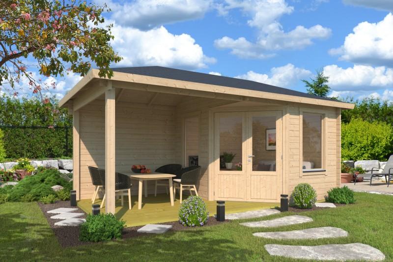 5 Eck Gartenhaus Modell Lisa 44 D Klassic