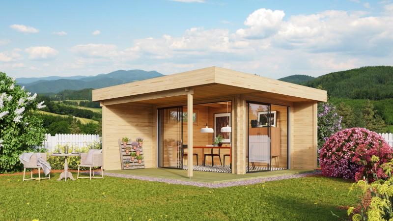 Gartenhaus Modell Alu Concept Relax 44 B