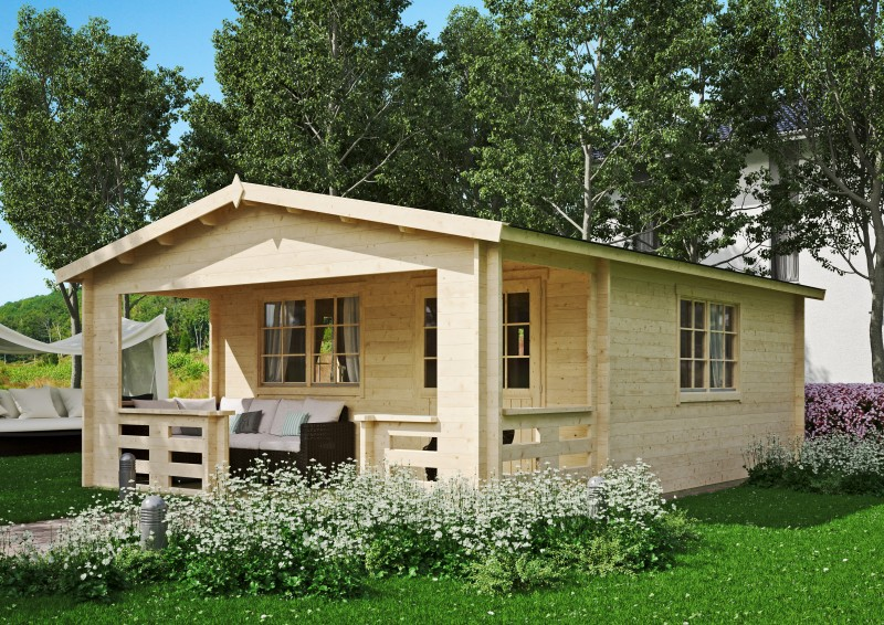 Gartenhaus Modell Johnny 40 C