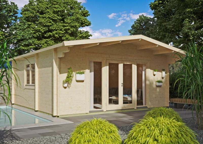 Gartenhaus Modell Kim 70 I