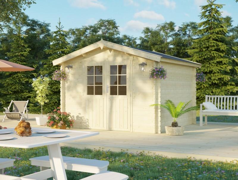 Gartenhaus Modell Bente 28 C