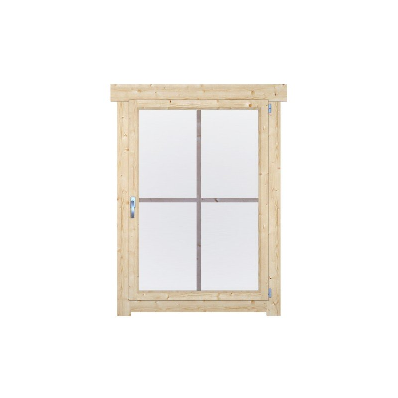 Dreh/Kipp-Einzelfenster W76-100-1H