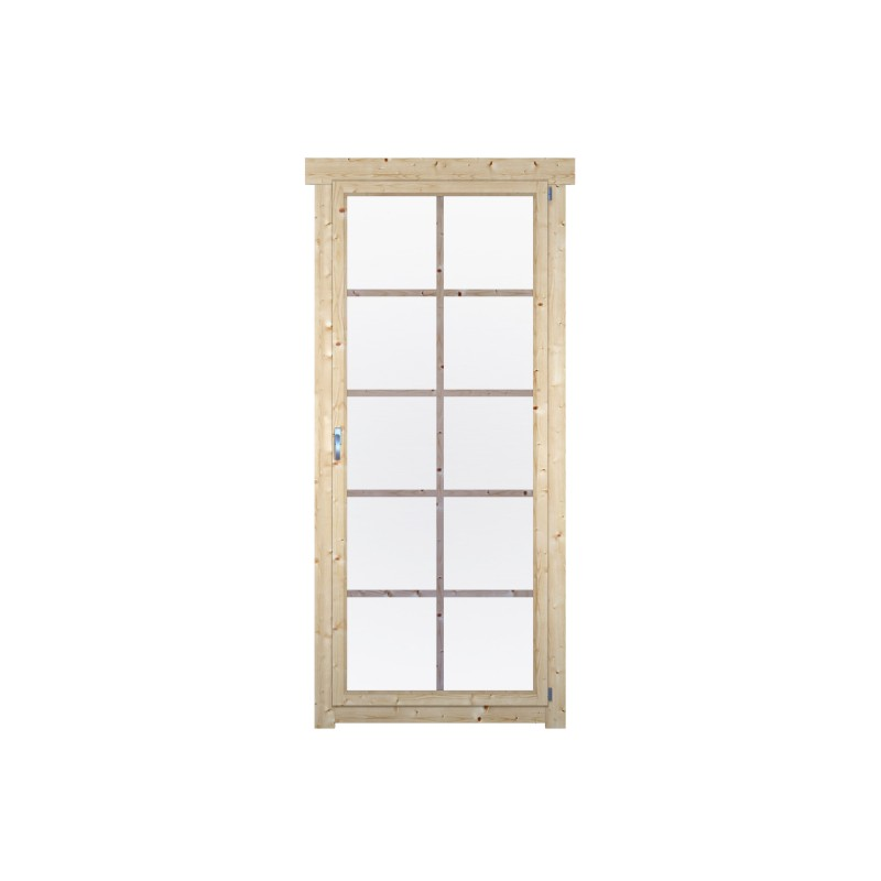 Dreh/Kipp-Einzelfenster W80-180-1H